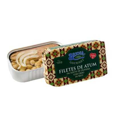 Filetes de Atum em Azeite de Oliveira com Grão de Bico