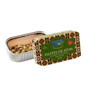 Filetes de Atum em Azeite de Oliveira com Feijão Frade